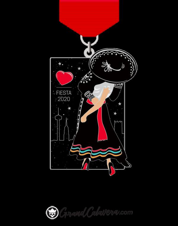 The FIesta Kiss 2020 Fiesta Medal
