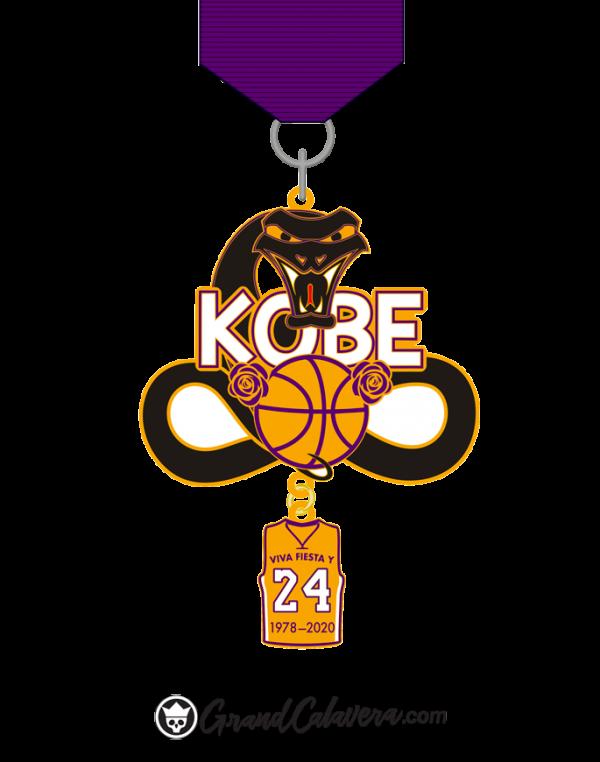 Kobe Black Mamba 2020 Fiesta Medal