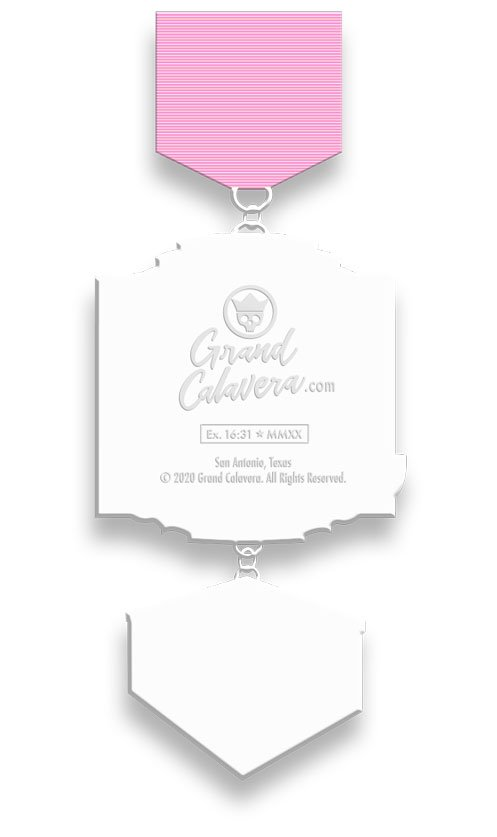 Pink Cake Fiesta Medal
