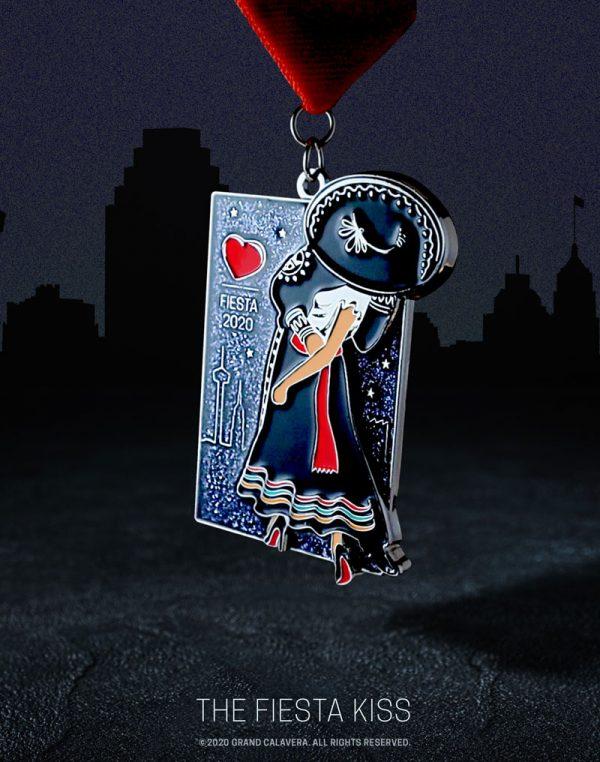 The Fiesta Kiss Fiesta Medal 2020
