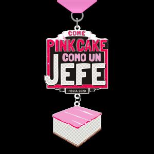 Pink Cake 2020 Fiesta Medal